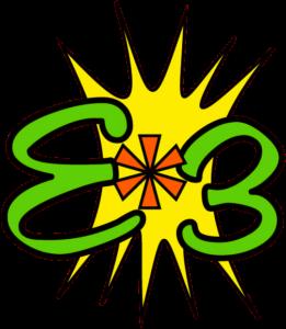 E*3 website logo