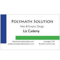 Polymath Solution Business Card